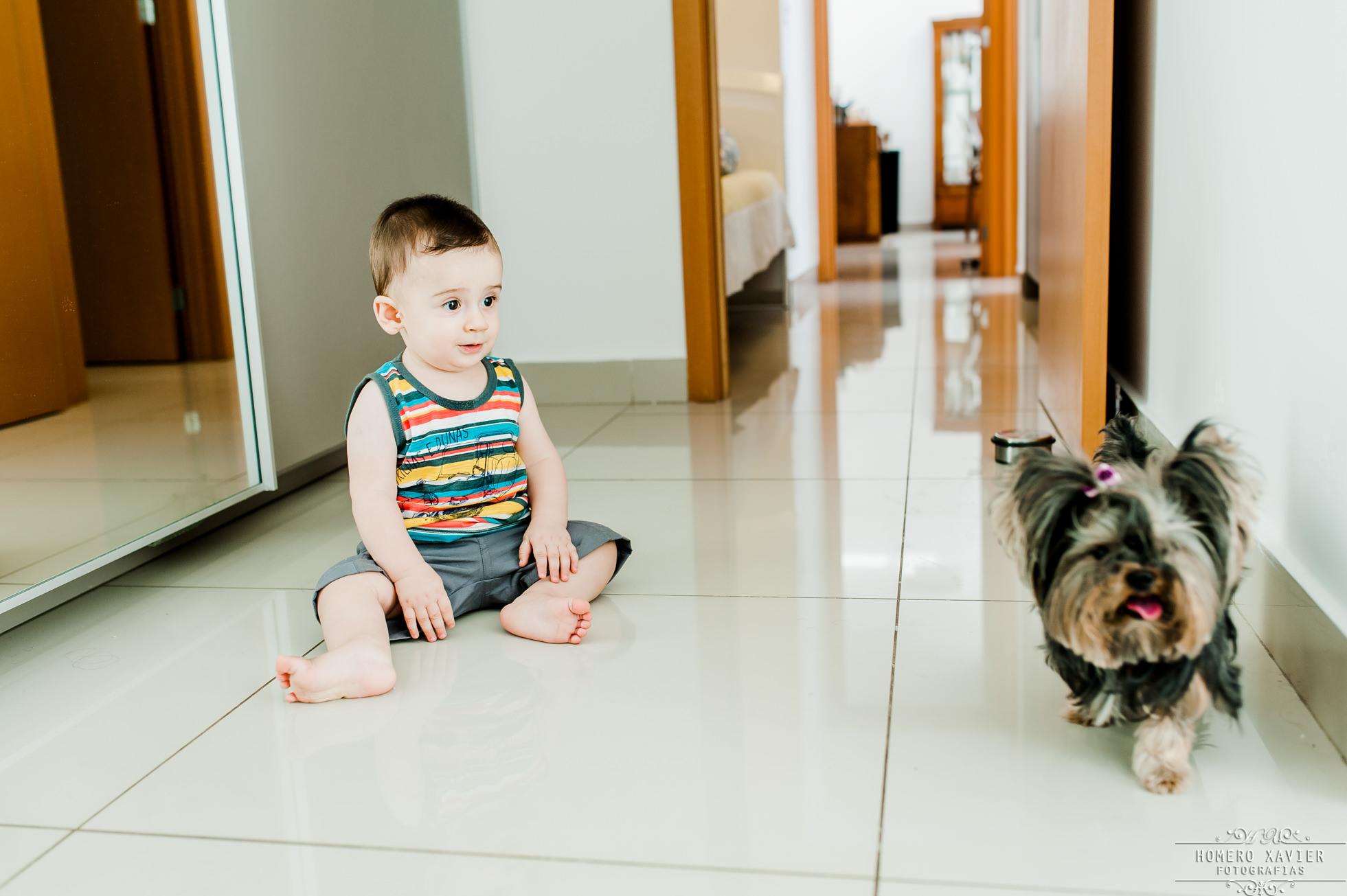 Fotografia de Acompanhamento Infantil Trimestral em BH