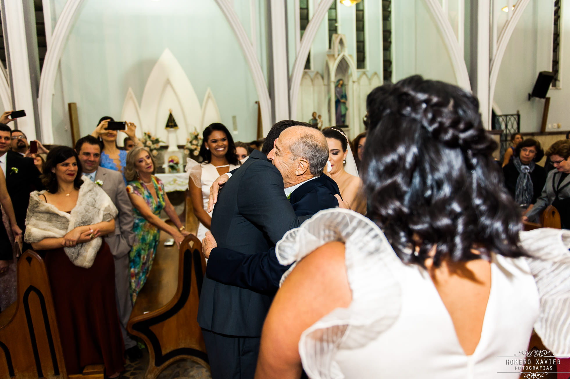 fotografia casamento Paroquia Consolacao e Correia em BH