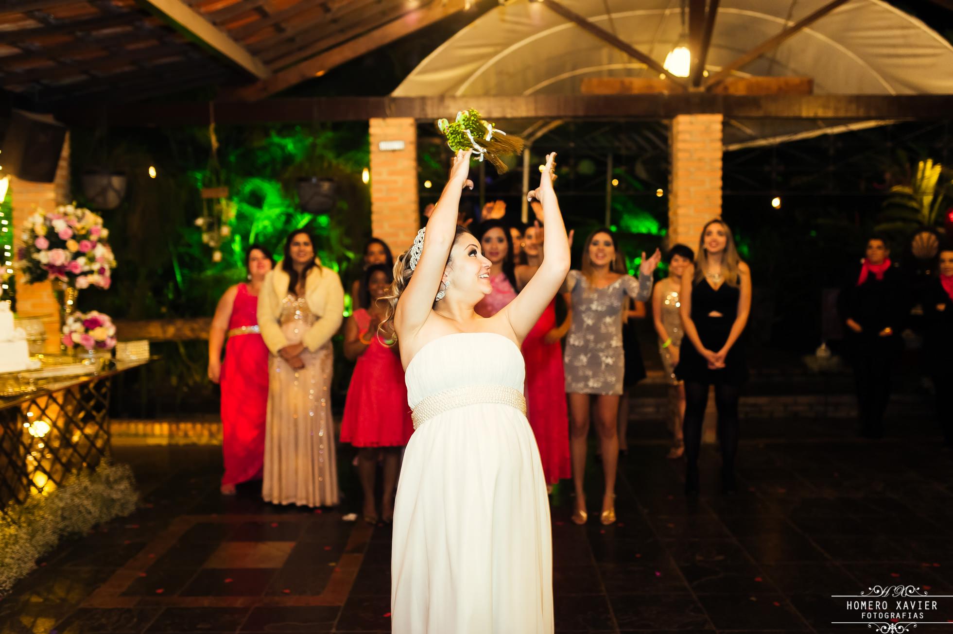 fotografia de festa de casamento Chácara de Minas em BH