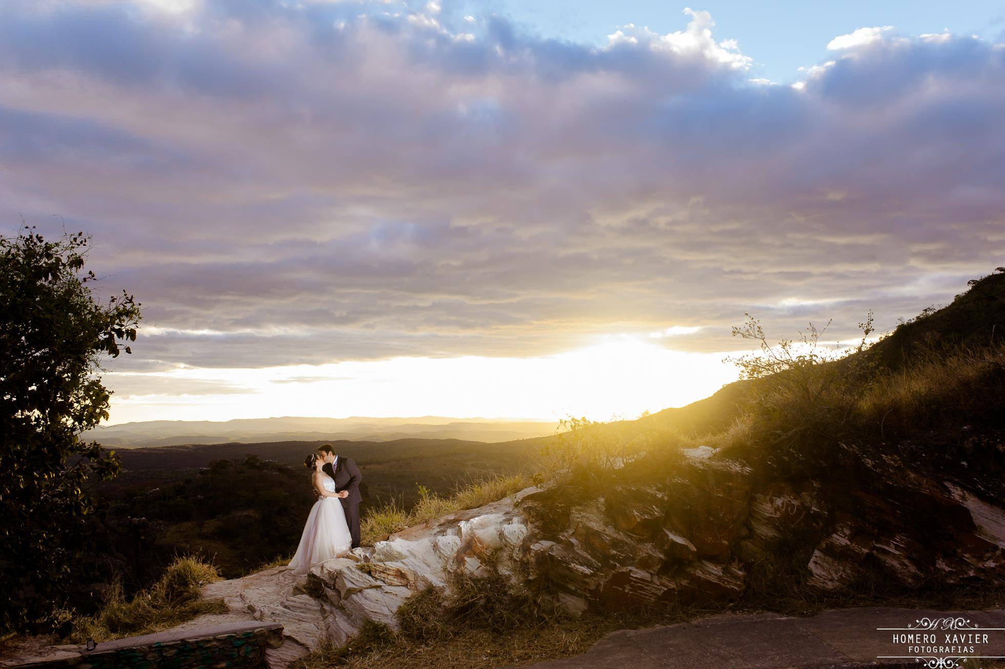 fotografia externa pos casamento Fazenda Monjolo Serra do Cipo
