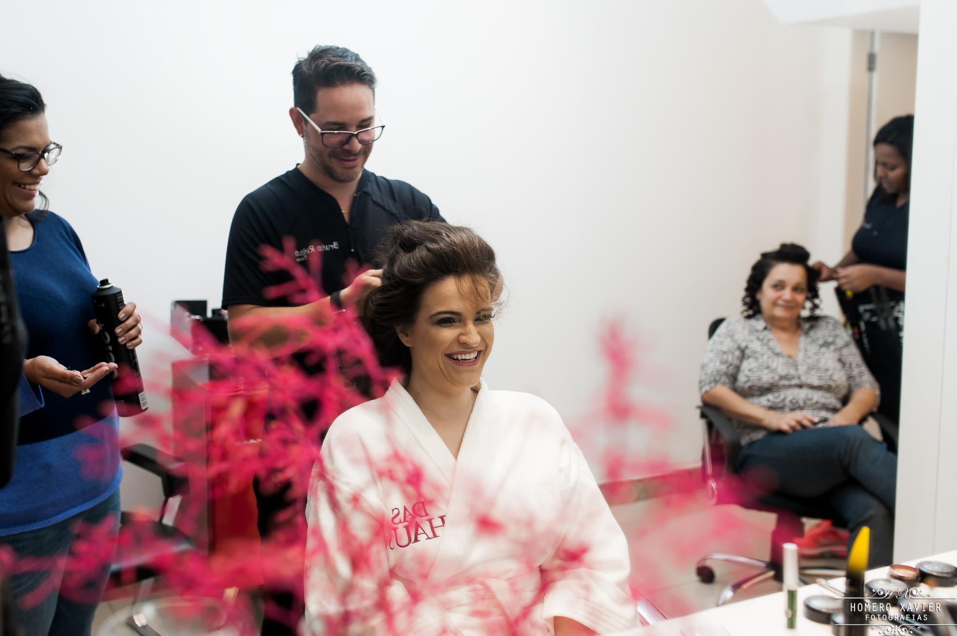 fotografia making off noiva Bruno Rinco em BH
