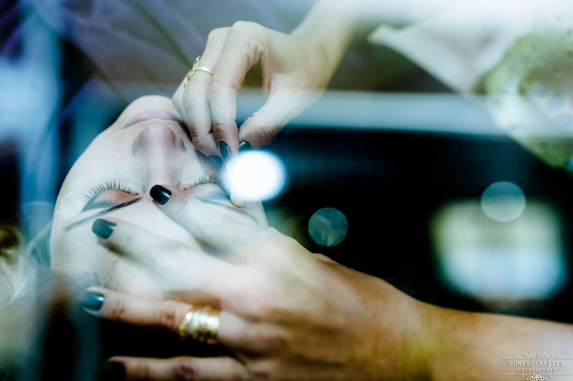 fotografia making of noiva Salão Lu Vieira em BH