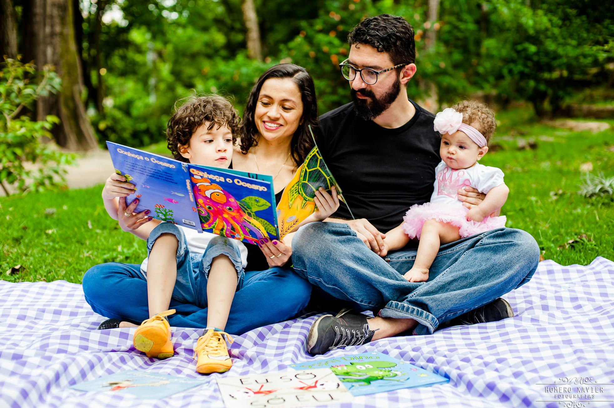 foto book infantil familia em BH