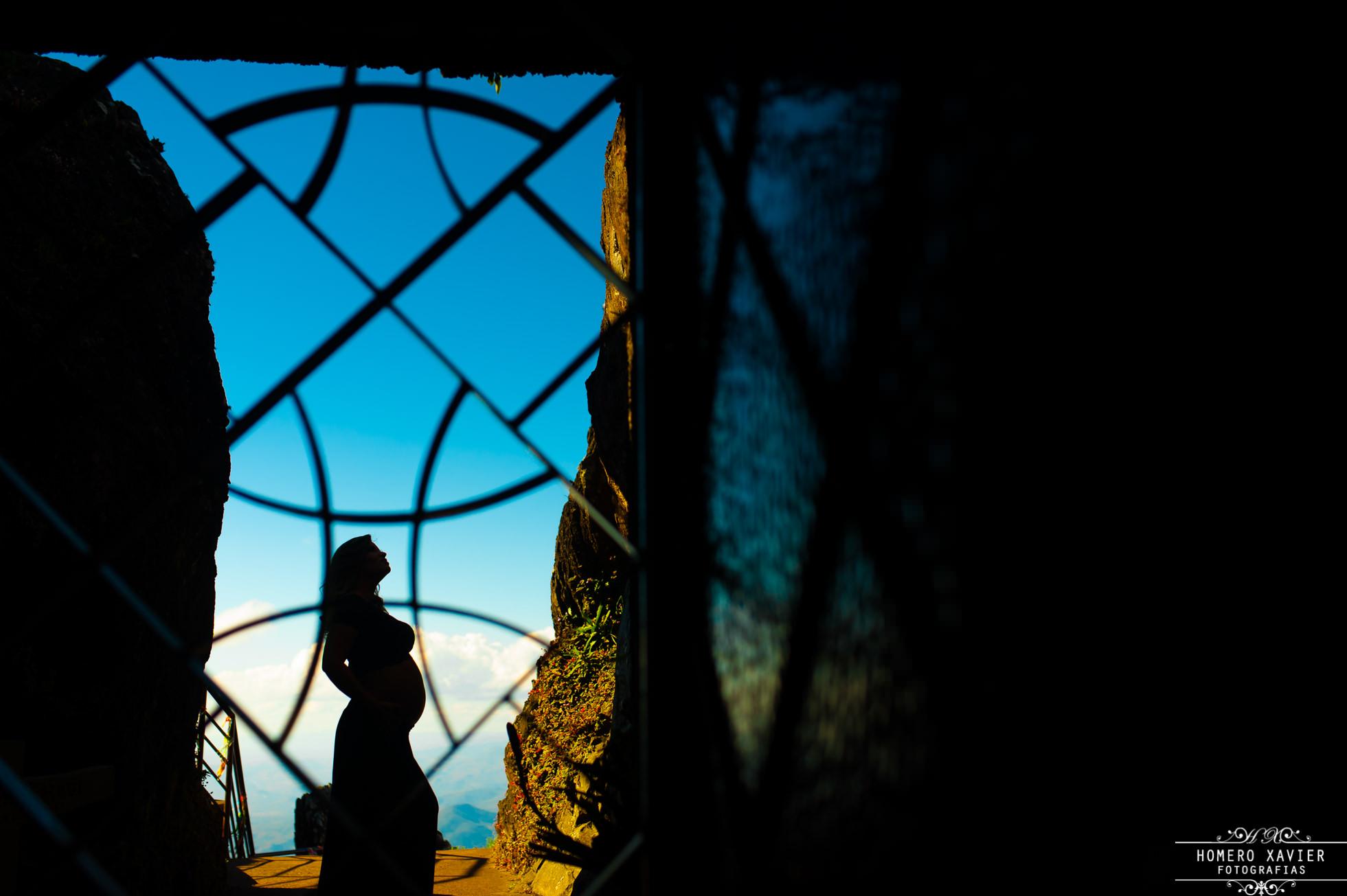 fotografia book gestante na Serra da Piedade Caete MG
