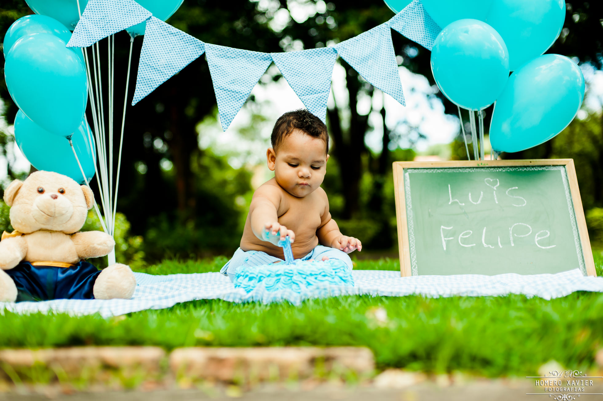 fotografia infantil smash the cake em BH