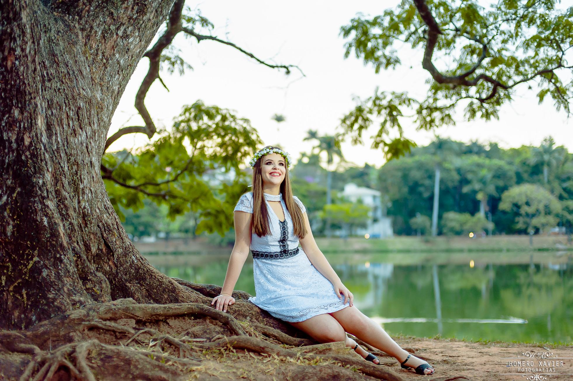 fotografia book 15 anos debutante Pampulha BH