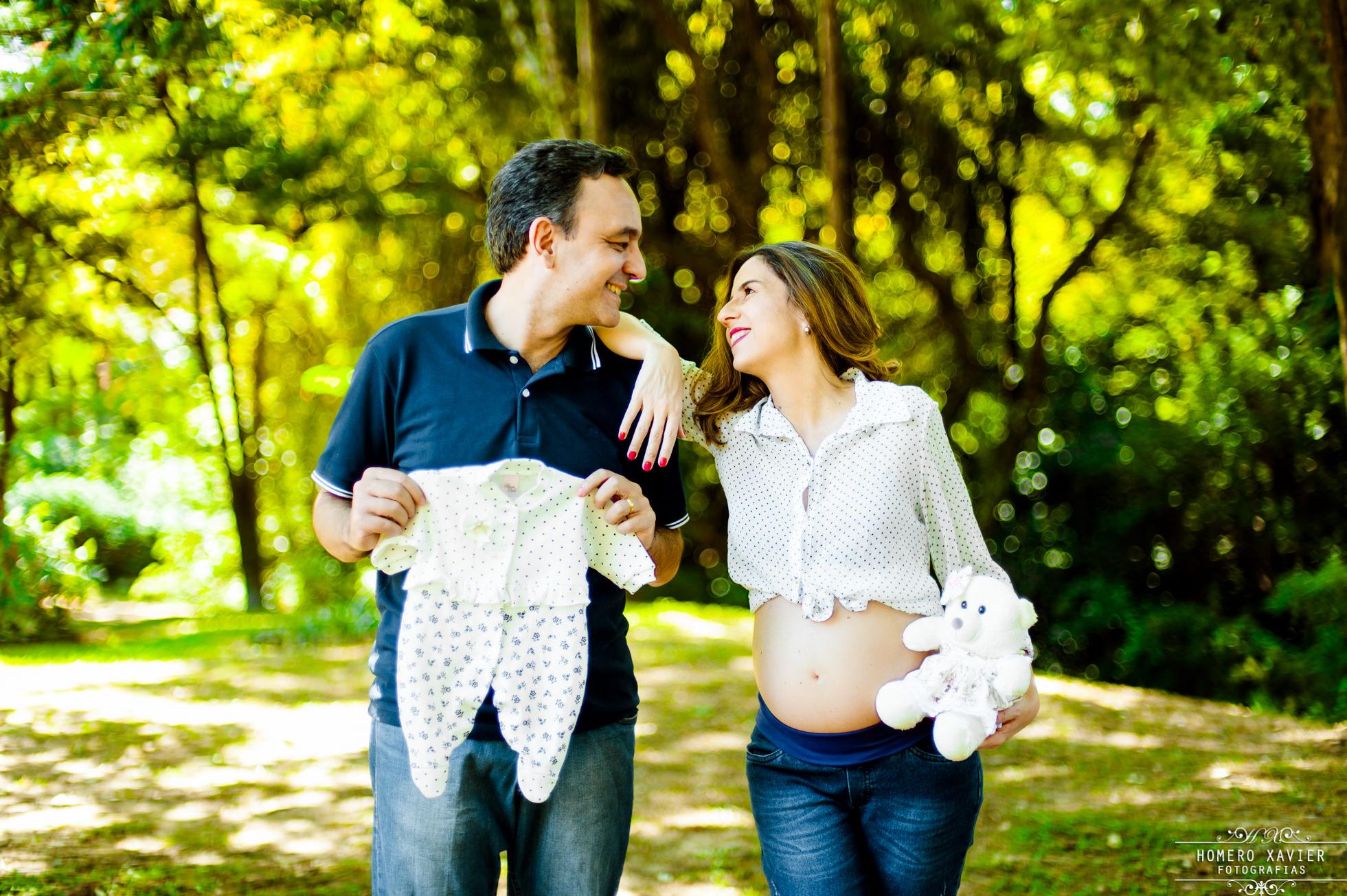 fotografia book gestante gravida em Parque em BH