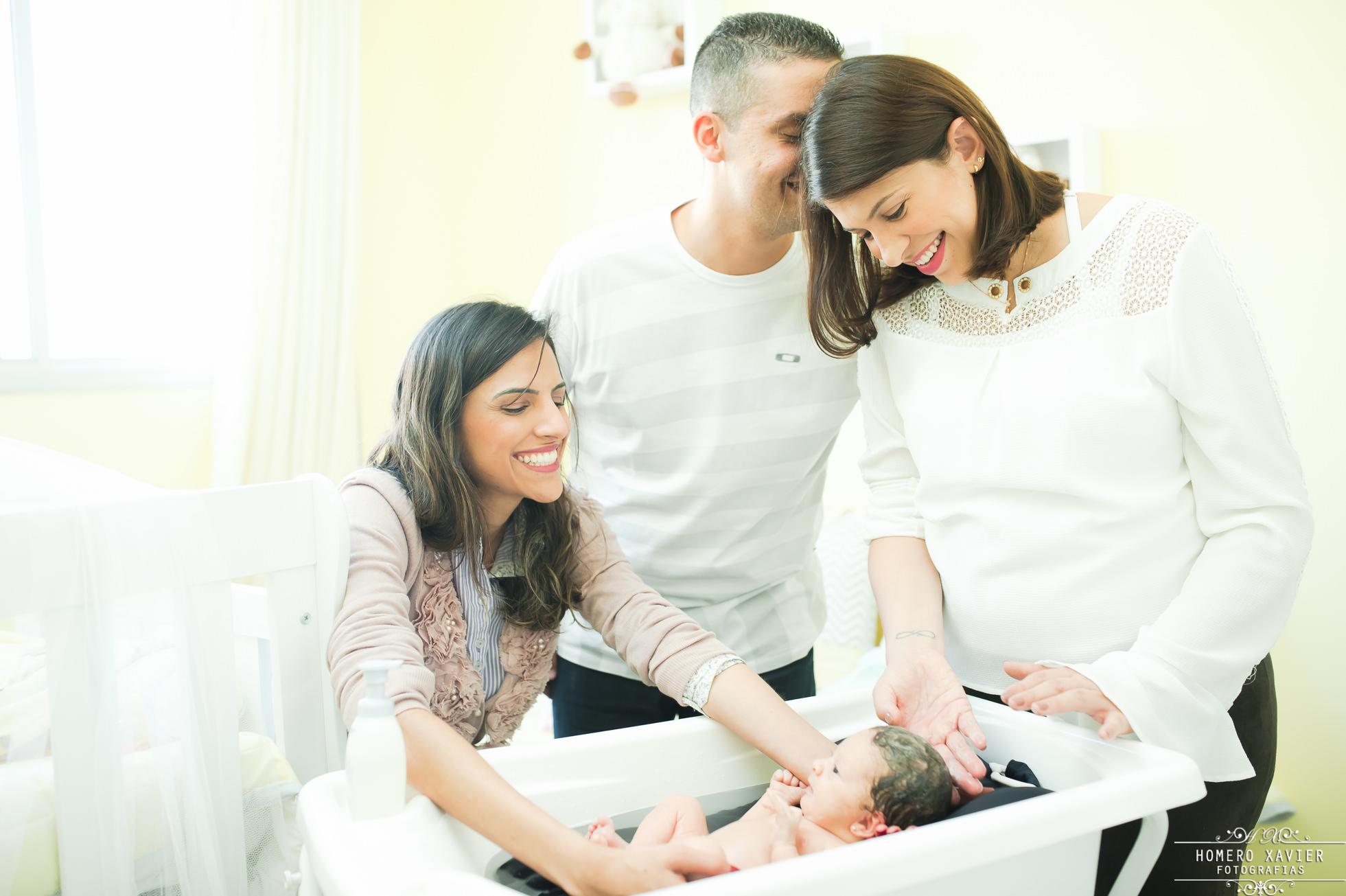 fotografia newborn recem nascido em casa em BH