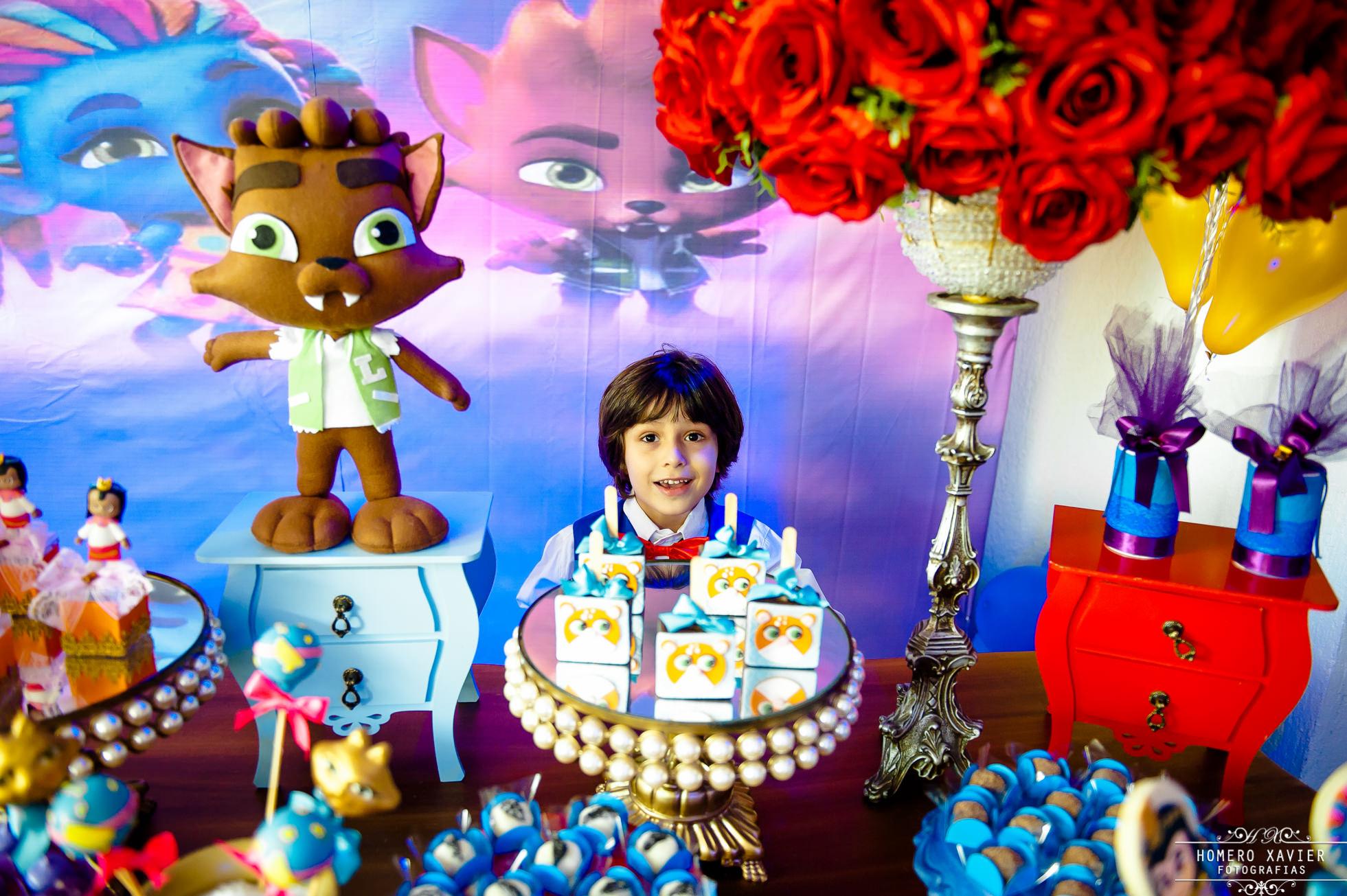 fotografia festa infantil monstrinhos BH