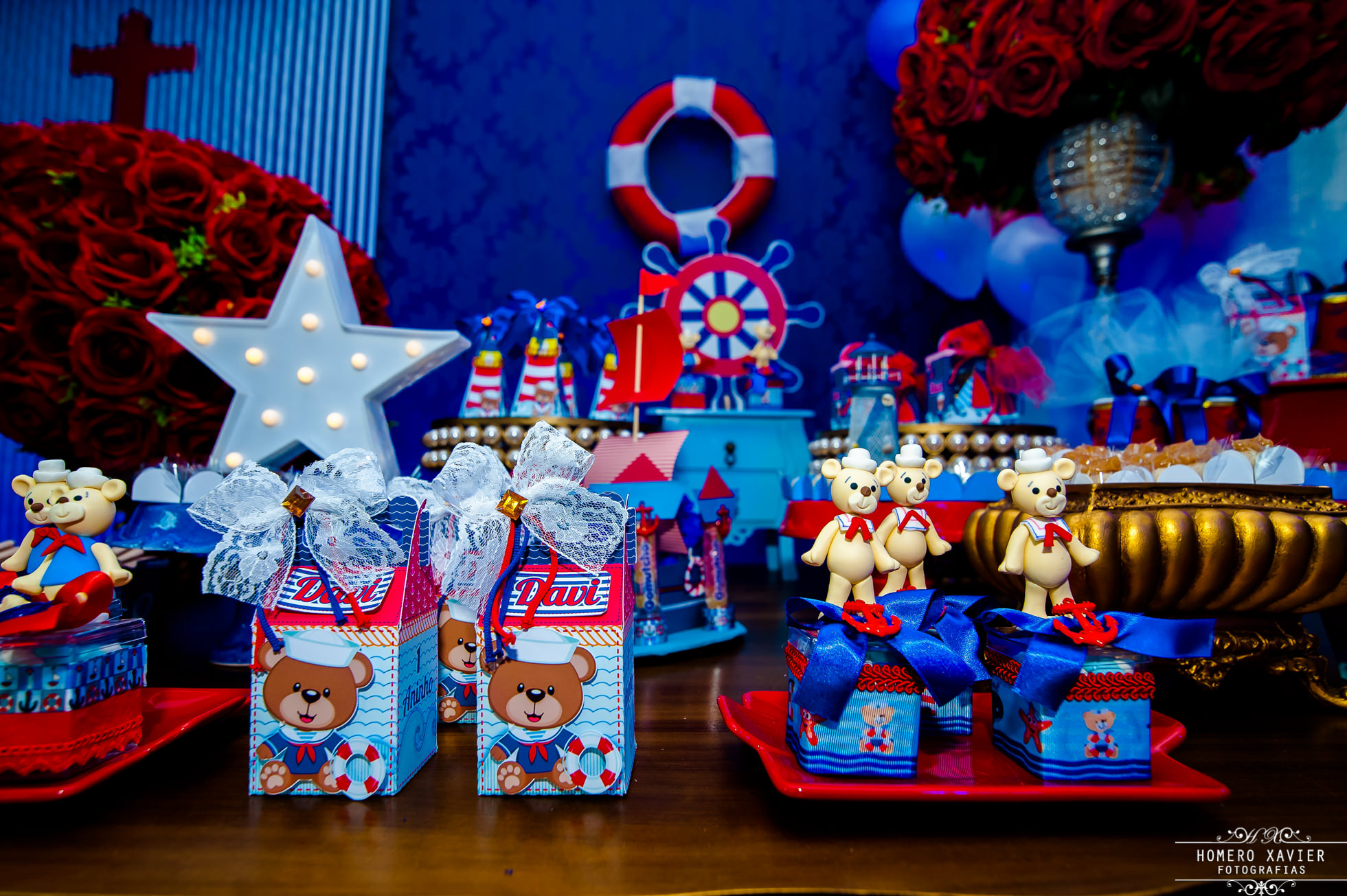 fotografia festa infantil ursinho Marinheiro Jardins Espaco para eventos BH
