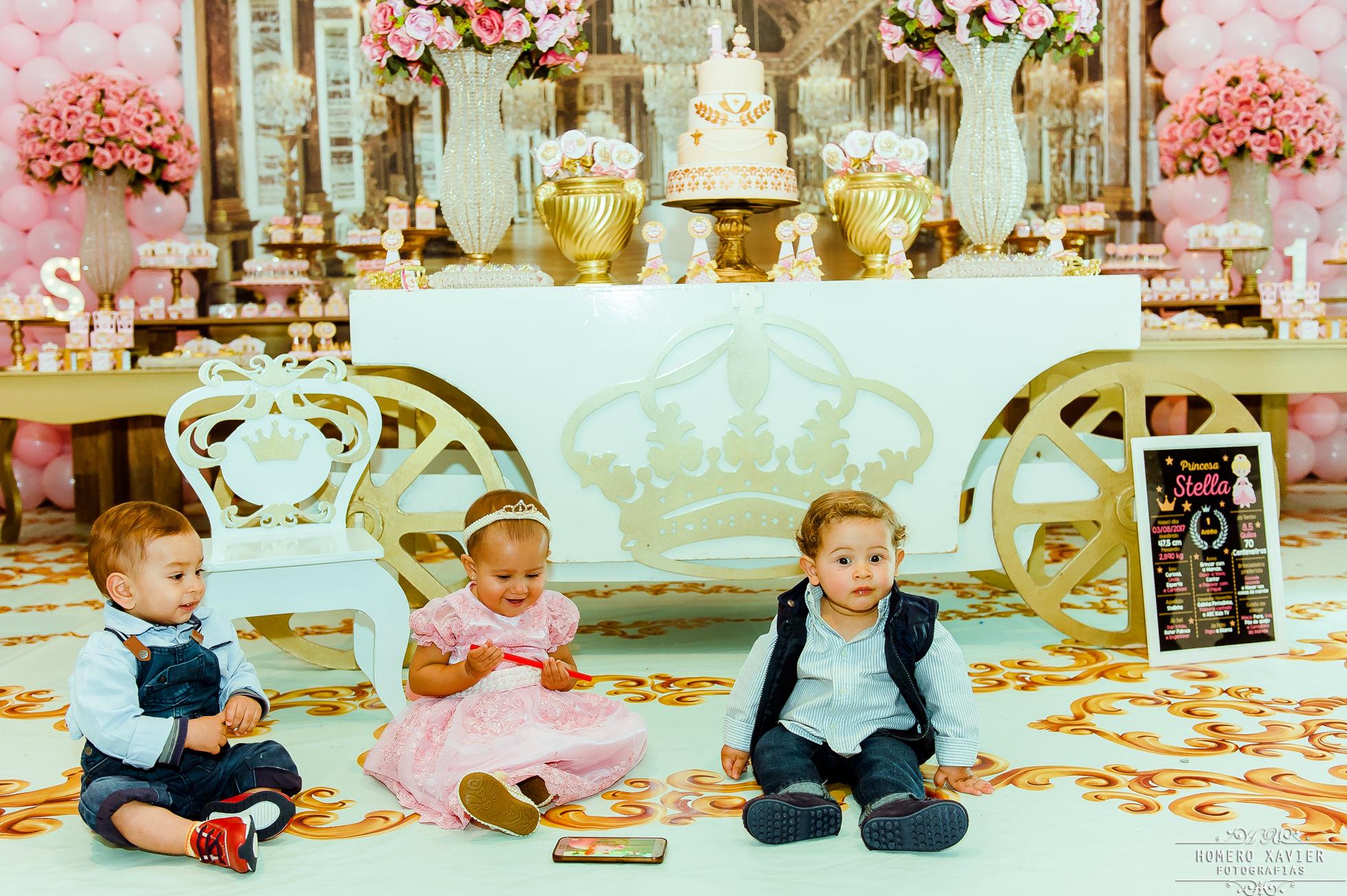 festa infantil reinado princesa Rapanui Buffet em bh