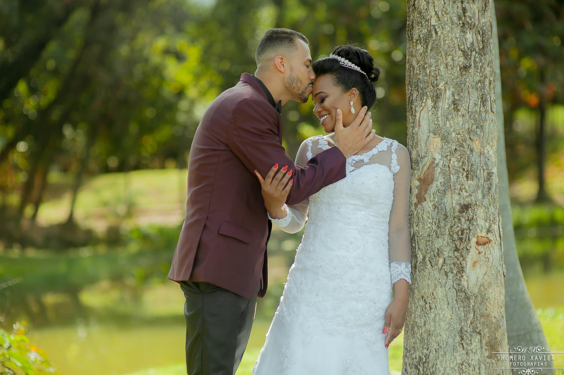 foto externa casamento parque em BH