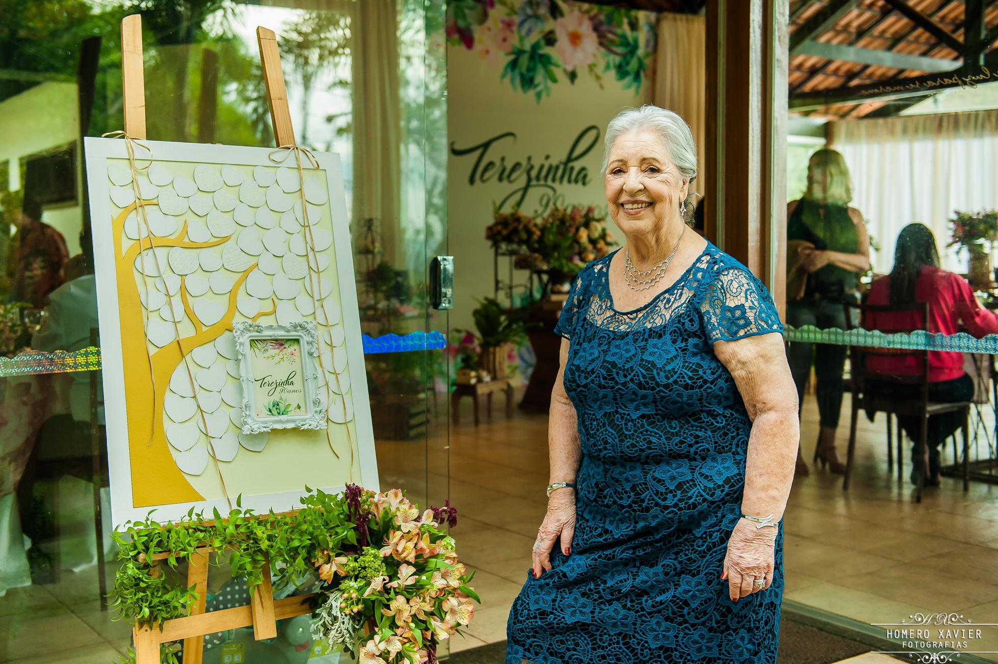 fotografia aniversario 90 anos em BH