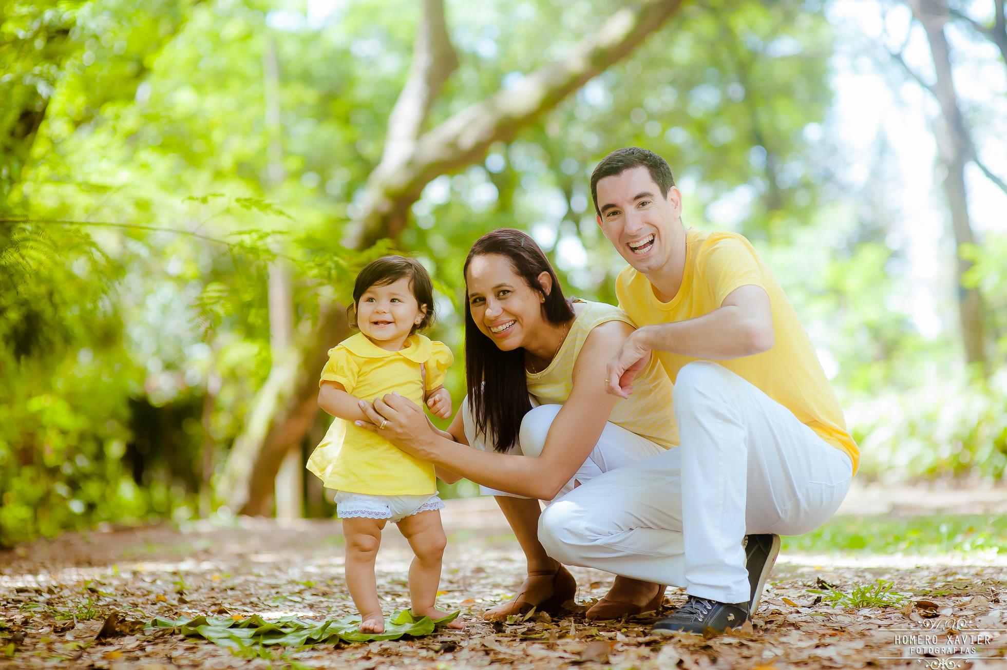foto infantil em parque em BH