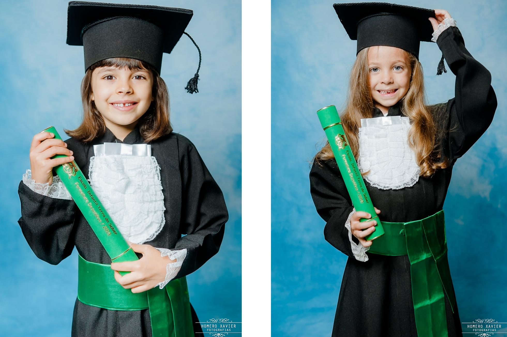 fotografia formatura infantil beca em bh