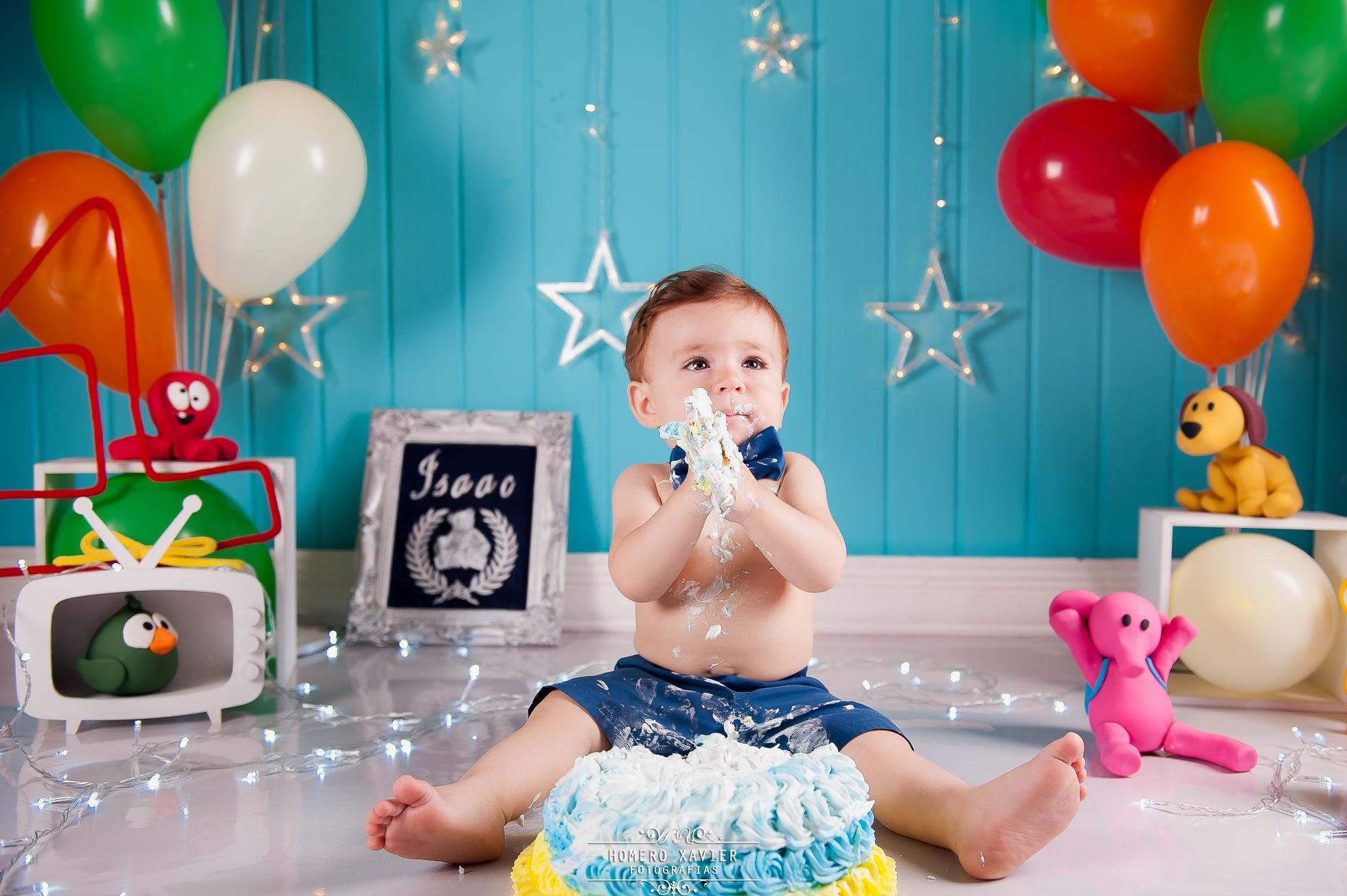 Fotografia smash the cake studio em BH