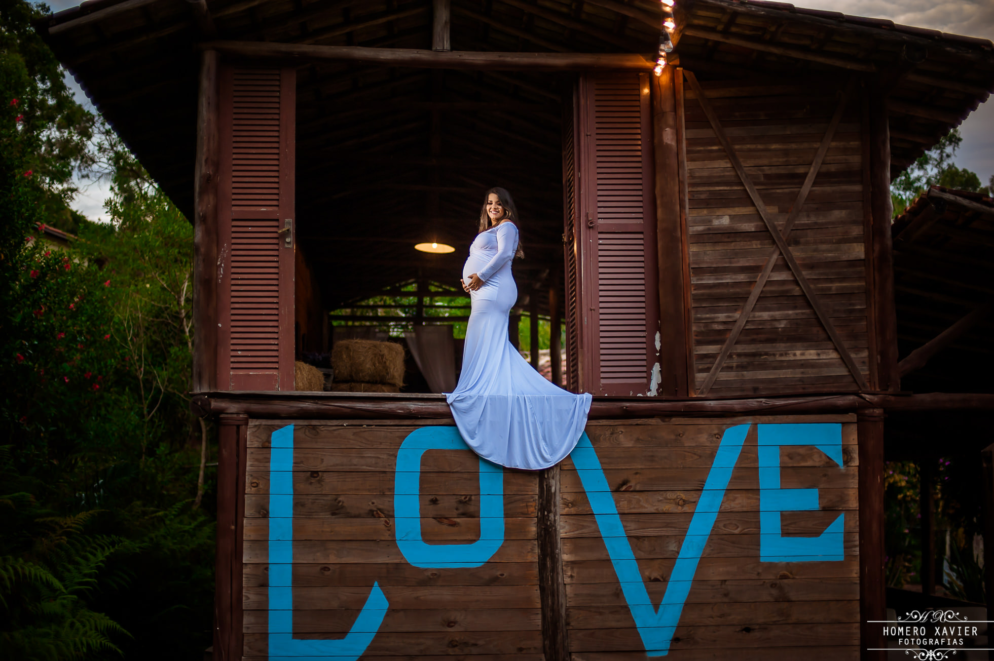 ensaio fotográfico book de gestante no Bougainville Farm em Caeté