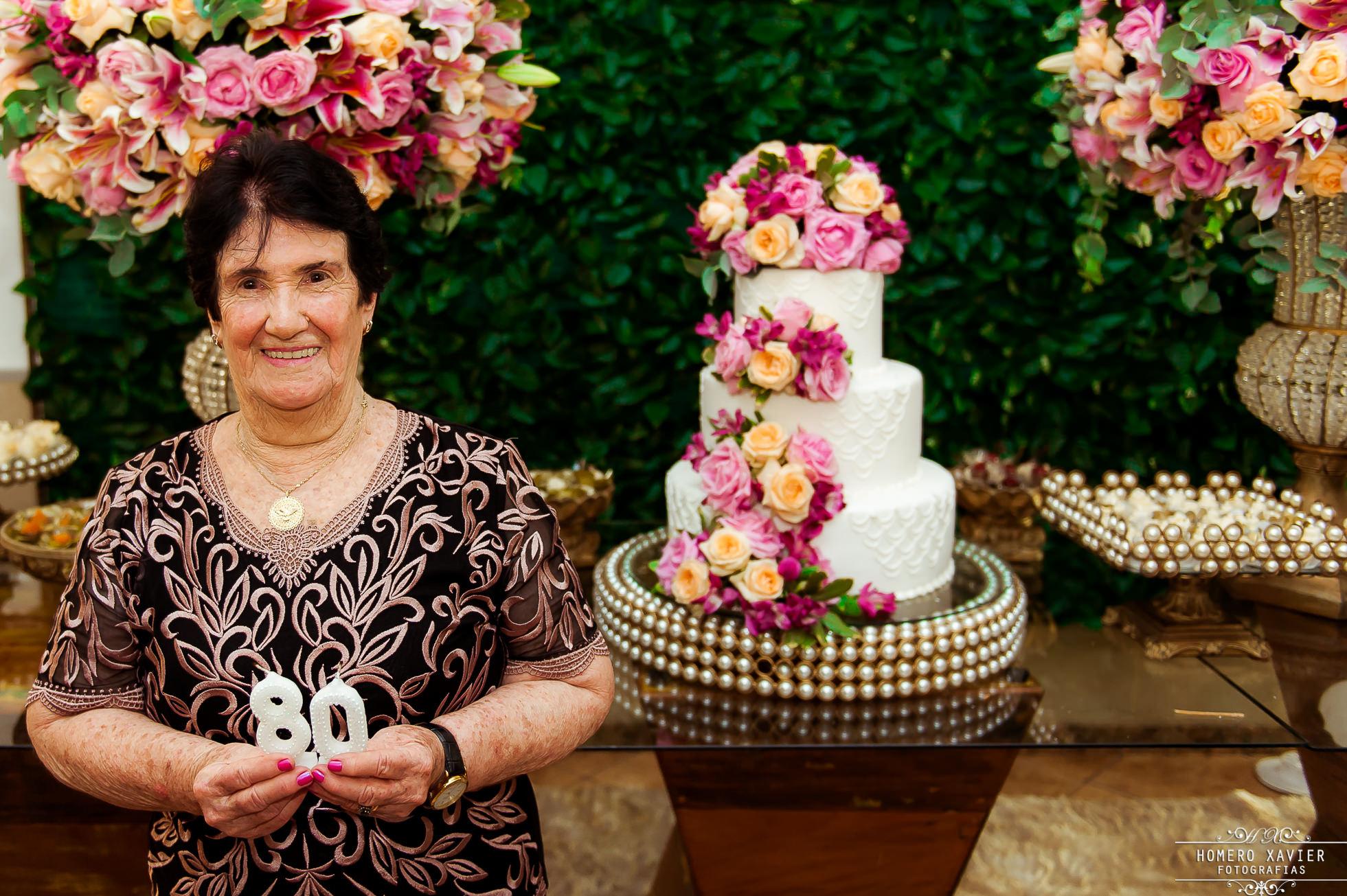 Maria Helena 80 anos