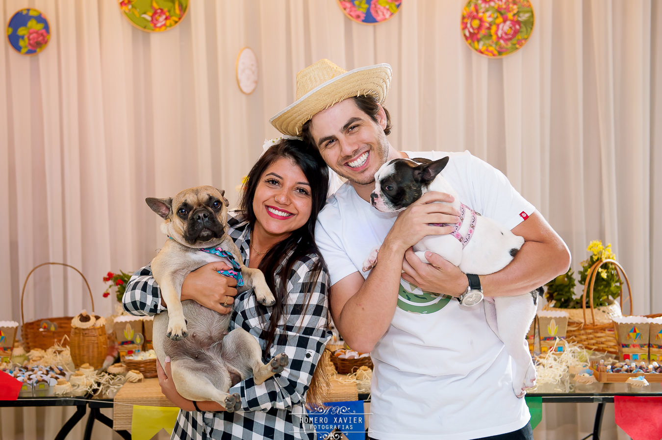 Charraiá Gaby e Felipe