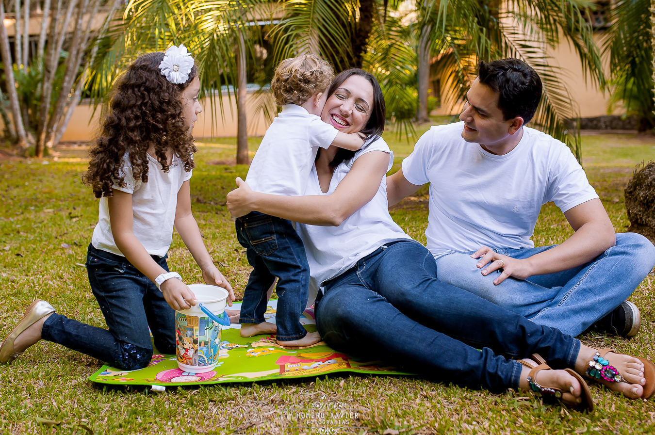 fotografia familia Parque das Aguas BH