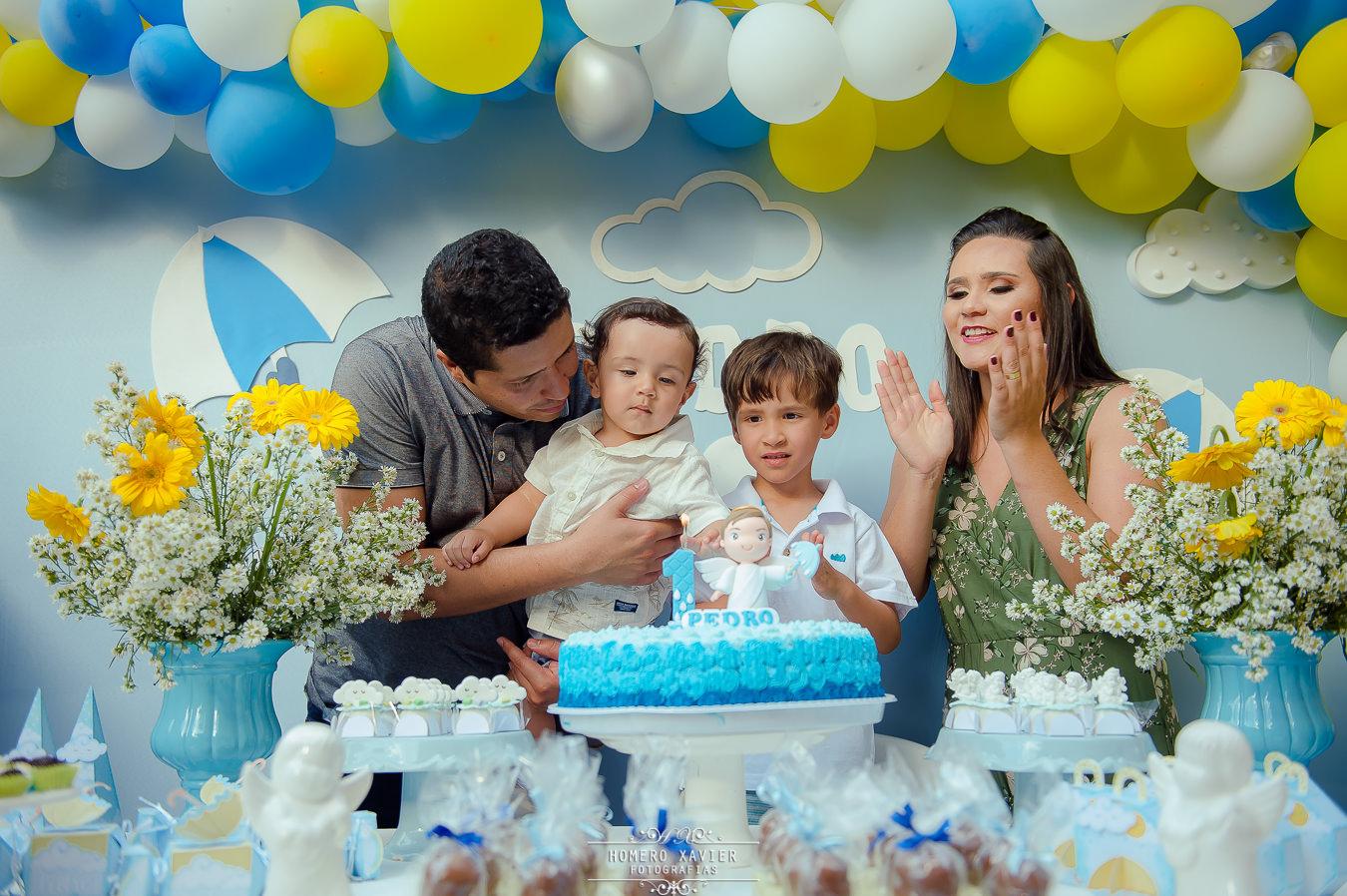 fotografia festa infantil chuva de bênçãos em bh