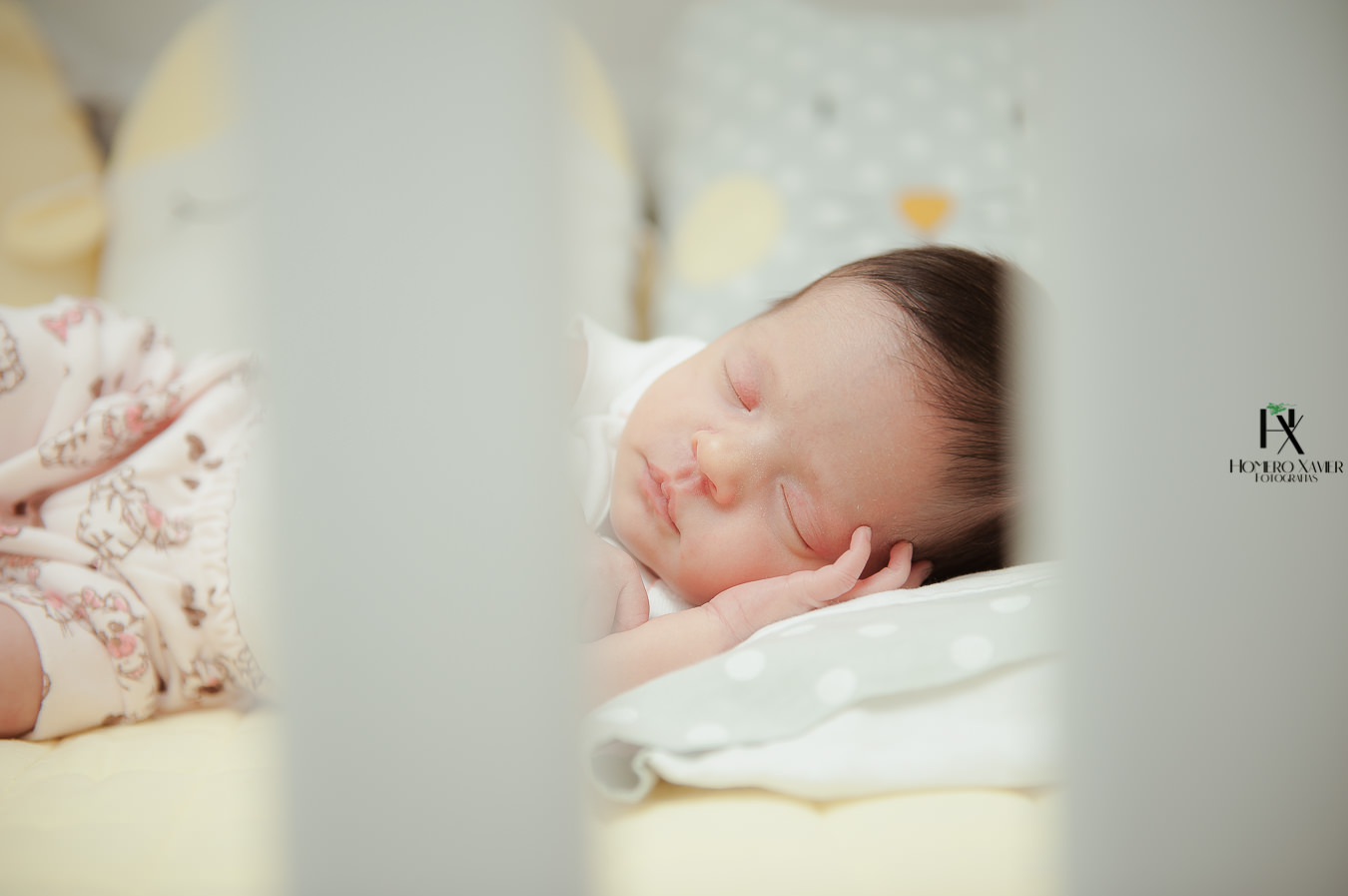 Ensaio fotográfico newborn de gêmeas em BH