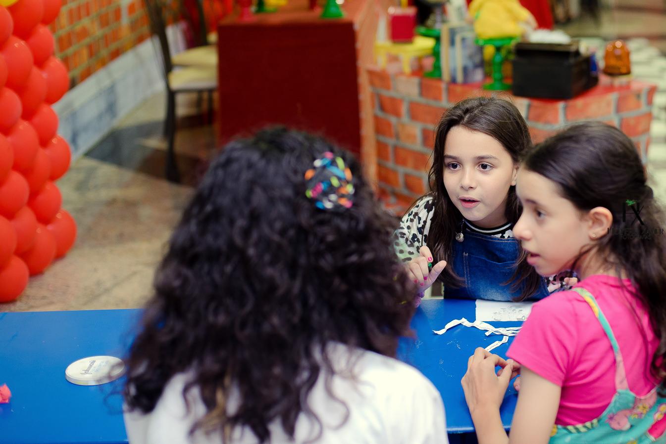 fotografia festa infantil Tema DPA em BH