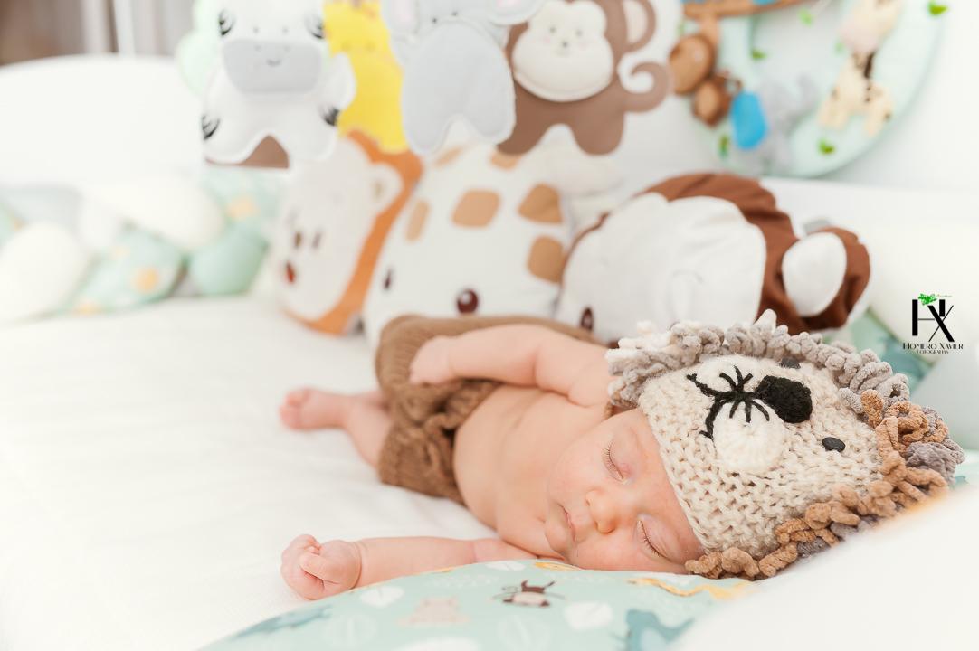 ensaio newborn em casa em BH