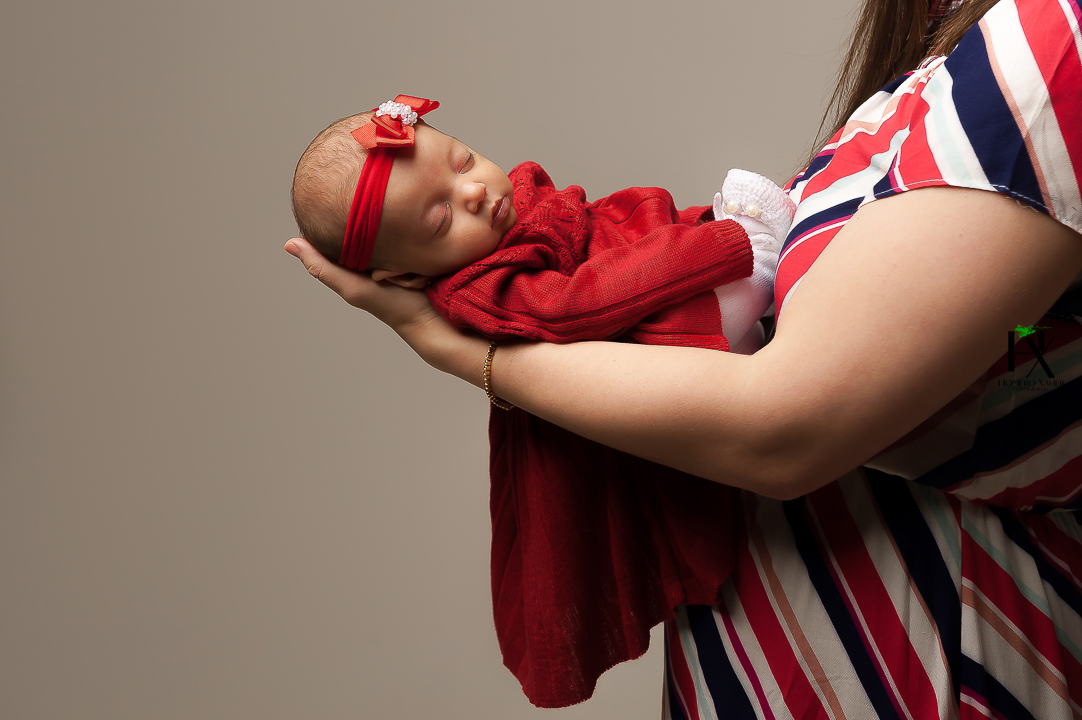 newborn em studio em BH