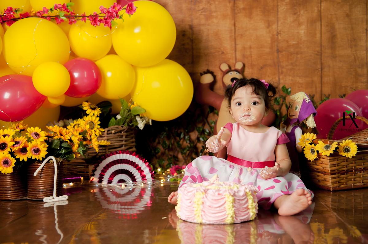 Ensaio fotográfico infantil Smash the cake
