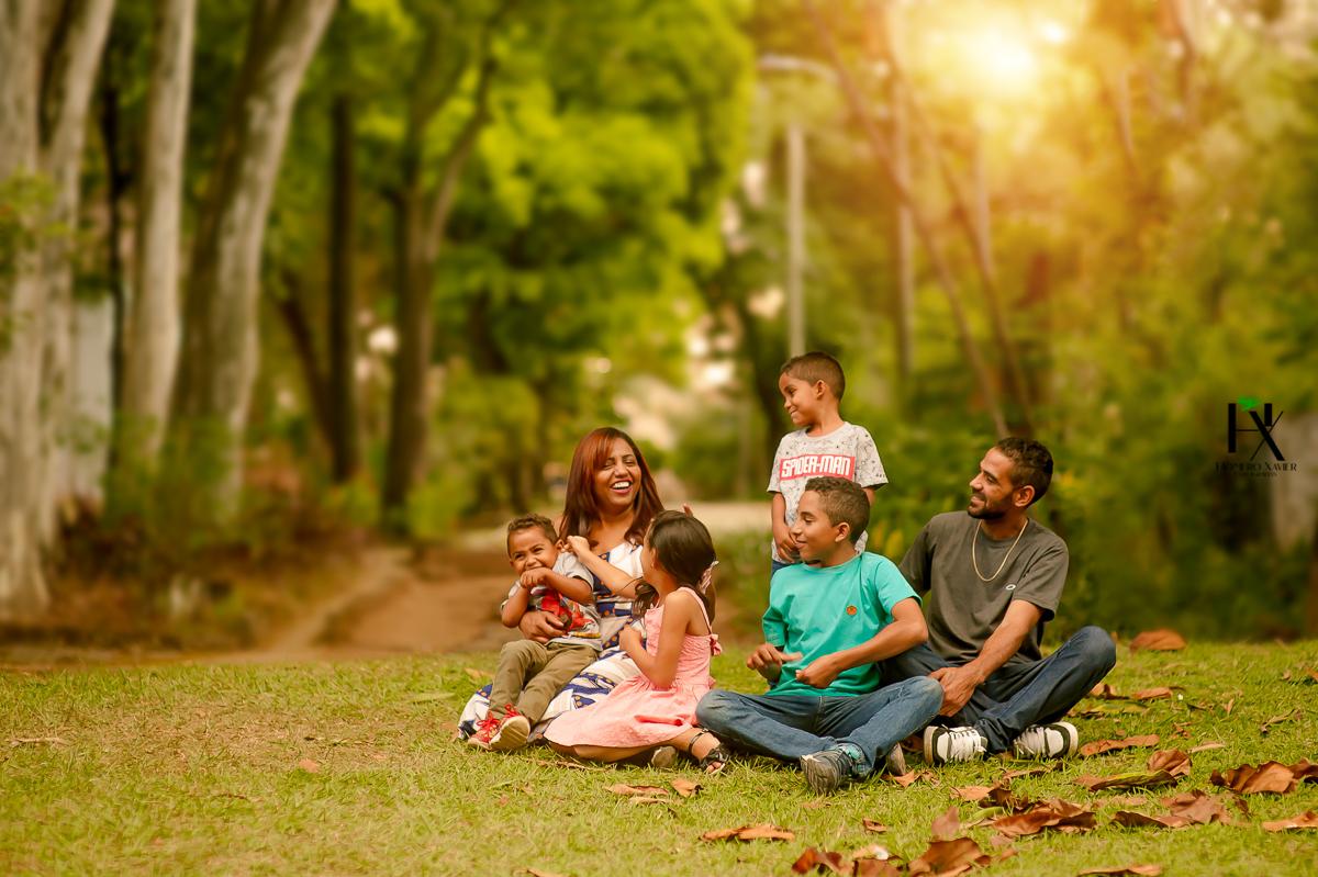 Ester & família