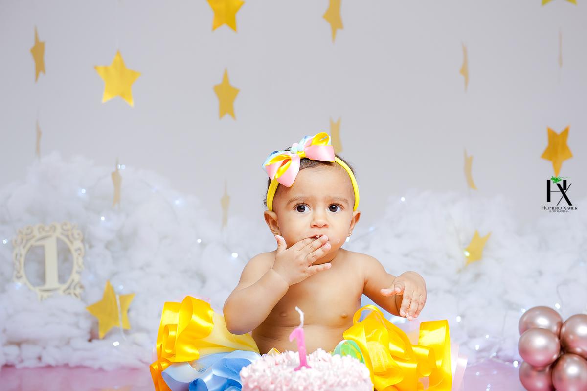 ensaio infantil smash the Cake em BH