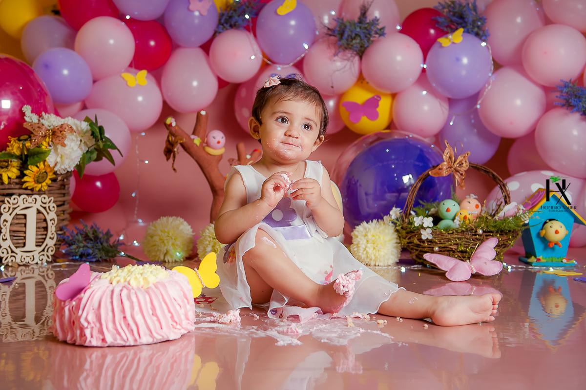Gabriela 1 aninho | Smash the Cake