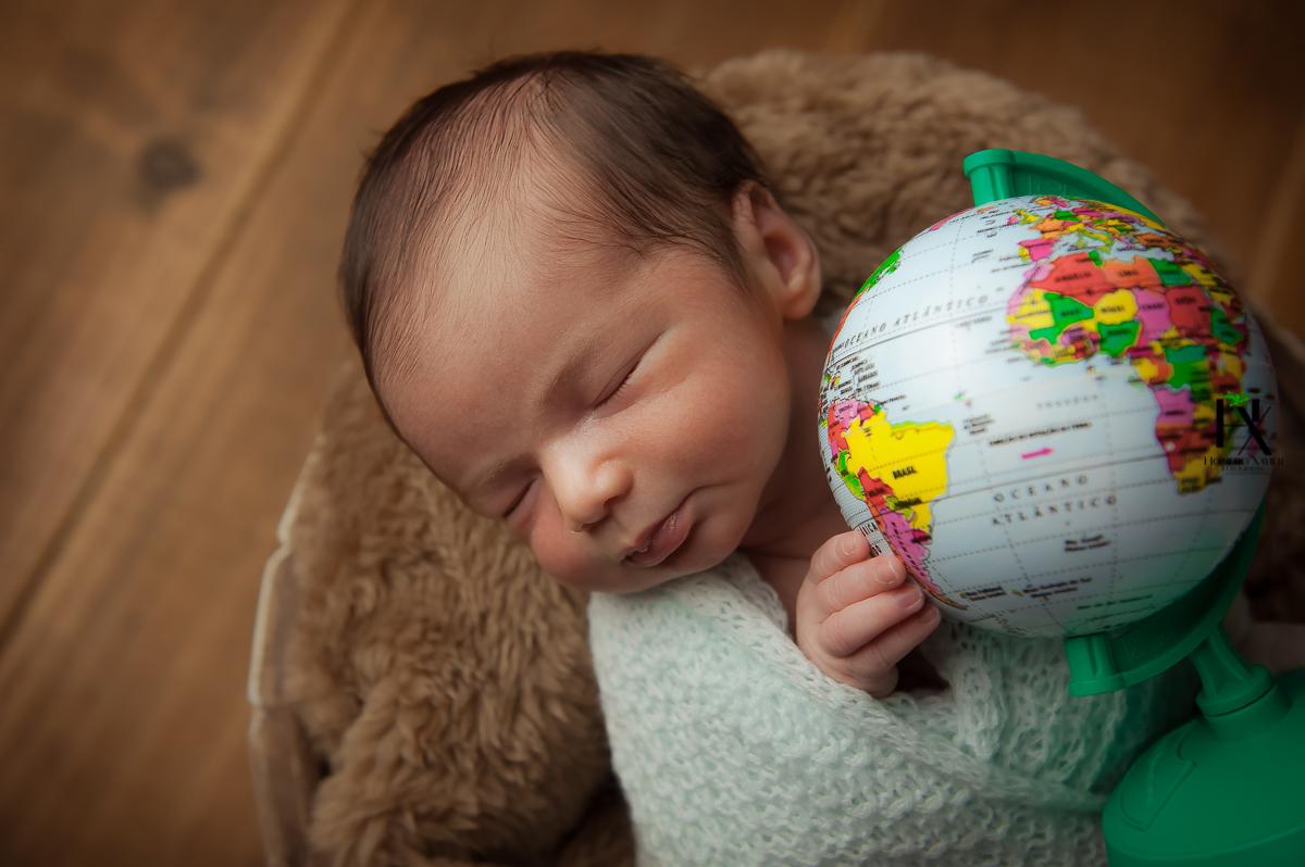 ensaio newborn em studio em BH